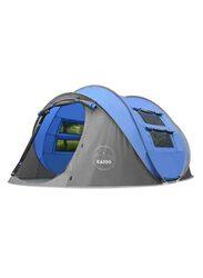 Kazoo 4 Person Pop Up Tent, Blue
