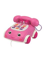 Winfun Talk N Pull Phone, Pink