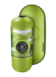 Wacaco Journey Nanopresso Portable Espresso Maker, with Protective Case, Spring, Green