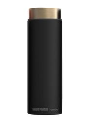 Asobu 500ml Le Baton Stainless Steel Travel Vacuum Thermos Bottle, Black/Gold