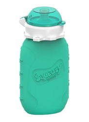 Squeasy Gear Snacker Bottle 175ml, Aqua Blue