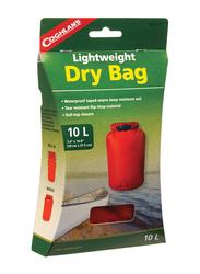 Coghlans Lightweight Dry Bag, 10 Ltr, Red