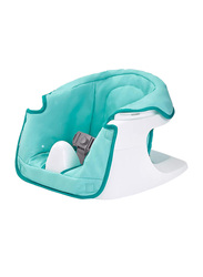 Summer Infant 3-In-1 Floor N More Booster Seat, Green/White