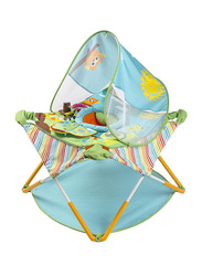 Summer Infant Pop N' Jump Activity Center Portable Jumpers, Blue/Green