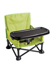 Summer Infant Pop 'N Sit Portable Booster Seat, Green