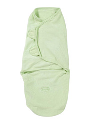 Summer Infant Swaddleme Cotton Original Swaddle, Sage (Large), 5-10 Months, Green