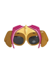 Sun Staches Officially Licensed Paw Patrol Skye Sunglasses for Kids, Brown/Pink