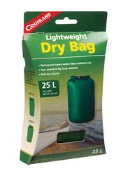 Coghlans Lightweight Dry Bag, 25 Ltr, Green