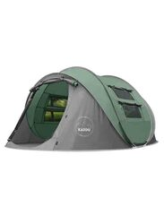 Kazoo 4 Person Pop Up Tent, Green