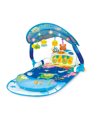 Winfun Magic Lights Musical Play Gym, Multicolor