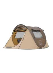 Kazoo 2 Person Pop Up Tent, Coffee Brown