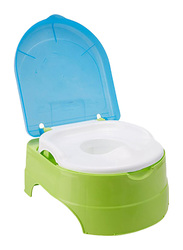 Summer Infant My Fun Potty Seat for Kids, Blue/Green/White