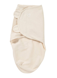 Summer Infant Swaddleme Cotton Original Swaddle, Preemie, 5-10 Months, Ivory