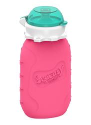 Squeasy Gear Snacker Bottle 175ml, Pink