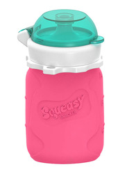 Squeasy Gear Snacker Bottle 100ml, Pink