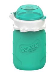Squeasy Gear Snacker Bottle 100ml, Aqua Blue