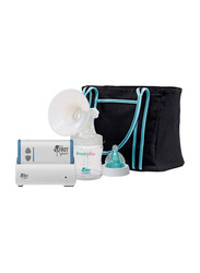 The First Years Sole Expression Basic Single Electric Breast Pump, Clear/White