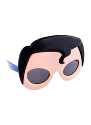 Sun Staches Officially Licensed Superman Sunglasses for Kids, Beige/Black