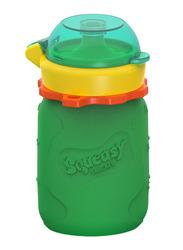 Squeasy Gear Snacker Bottle 100ml, Green