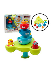 YooKidoo Stack N Spray Tub Fountain for Kids, Multicolor