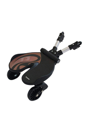 Bumprider Ride-On Board Toddler Stroller, Brown