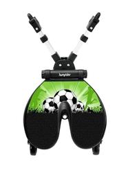 Bumprider Football Designed Ride-On Board Toddler Stroller, Green