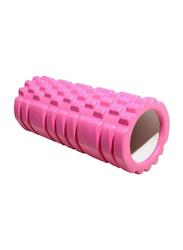 Yoga Massage Foam Roller, 33cm, Pink