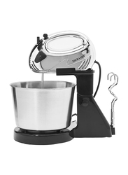 Mebashi 7 Speed Stand Mixer, ME-BWM1602SS, Silver
