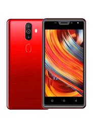 Vinsoc V16 16GB Red, 2GB RAM, 4G LTE, Dual Sim Smartphone