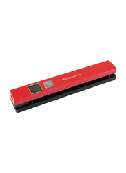 IRIScan Anywhere 5 Portable Flatbed Scanner, Red