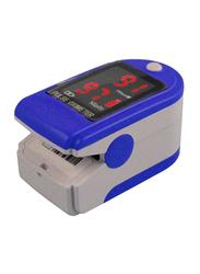 Contec Pulse Oximeter with Neck & Wrist Cord, CMS50-DL, Blue/Grey