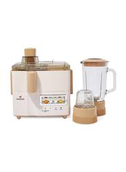 Mebashi 3-In-1 Juicer and Blender, 500W, ME-JB176P, Pink/Brown