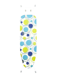 Home Selection Iron Board, 122 x 38cm, Blue/Green