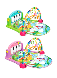 Tavakkal Kick and Play Gym with Piano, Assorted Color