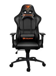 Cougar Armor Gaming Chair, Adjustable Design, Black