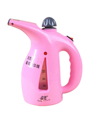 2-in-1 Mini Portable Garment and Facial Ironing Steamer, 800W, 200ml, PUK5212, Pink