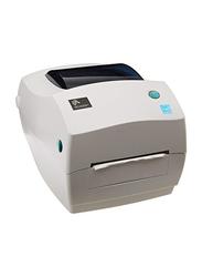 ZEBRA GC420T Barcode Label Printer, White