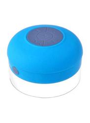 Waterproof Bluetooth Speaker, B07NF13W52, Blue/Grey
