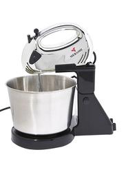 Mebashi 2L Stand Mixer, 150W, ME-BWM1602SS, Silver/Black