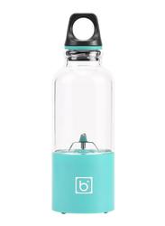 0.5L Portable Fruit Juice Blender, Blue/Black