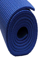 Yoga Mat, 6mm, Dark Blue