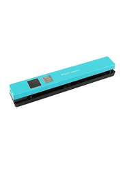 IRIScan Anywhere 5 Portable Flatbed Scanner, Blue/Black