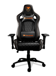 Cougar Armor S Gaming Chair, Adjustable Design, Black
