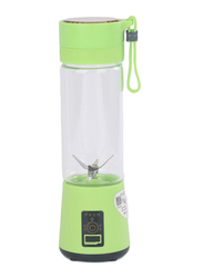 500ml Juice Cup Portable Electric Juicer Blender, ALD-003, Green/Clear