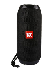 Portable Bluetooth Speaker, TG117, Black