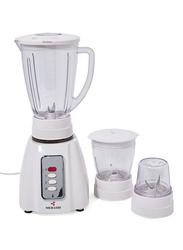 Mebashi 3-In-1 Blender, 400W, ME-BL1005W, White/Clear