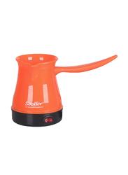 Sonifer Electric Turkish Coffee Pot Maker, 500W, SF-3503, Orange/Black
