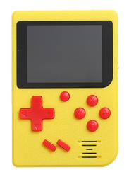 Mini Portable 2.4 Inch LCD 8 Bit Handheld Game Player Video Console, Built-In 129 Retro Games, Yellow