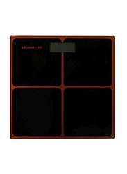 Olsenmark Digital Personal Weighing Scale, Black