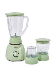 Mebashi 1.6L 3-in-1 Blender, 400W, ME-BL1004G, Green/Clear
